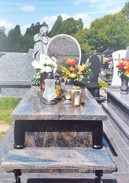 nagrobki pomniki poczesna