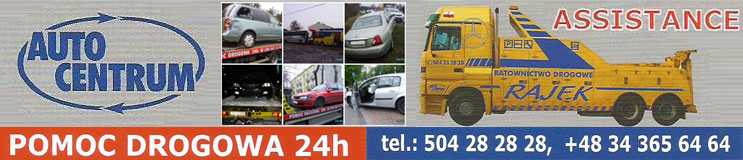Pomoc drogowa Częstochowa Auto Centrum Rajek